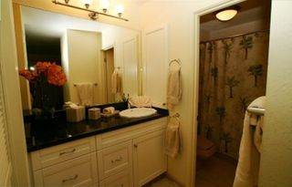 Wailea condo photo - Master Bathroom with New Granite Counters, Cabinets & Accessories