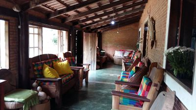 Cozy house with pool at Fazenda Bonsucesso