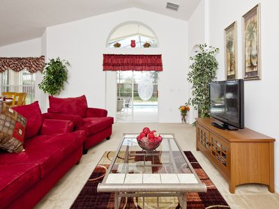 The Sanctuary at West Haven villa rental - Lounge wth patio door