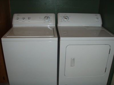 New washer and dryer to serve your needs
