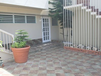 Ocean Park house rental - Apartment entrance.