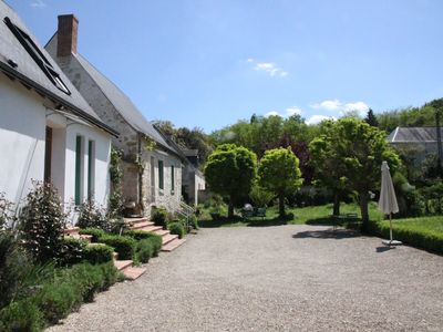 Cottage between meadows, forests and castles in the valley of Indre and Loire