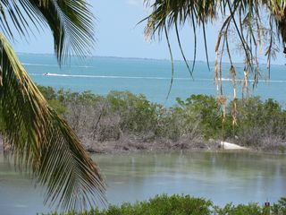 Fort Myers Beach condo photo - View of Sanibel from the lanai