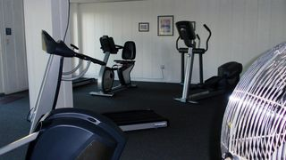 Bonita Springs condo photo - Fitness Center with Gulf View