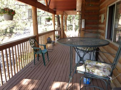 Another view of the covered deck!