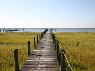 Chincoteague Island townhome photo - Our Dock