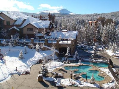 Lodge and Hot Tubs
