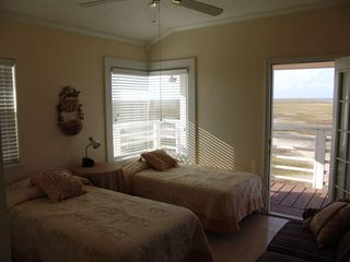 Galveston property rental photo - Wake to sunrise.