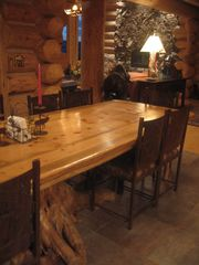 Granby lodge photo - Dining Room Table - expands to seat 18 adults