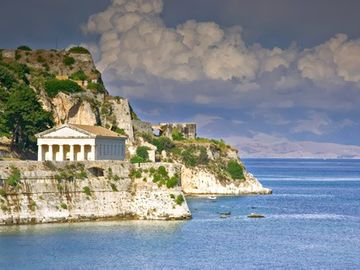The Old Fortress in Corfu town