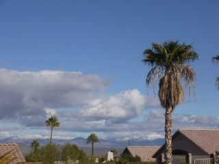 Fountain Hills house photo - Our mountain view covered with rare snow after a winter storm