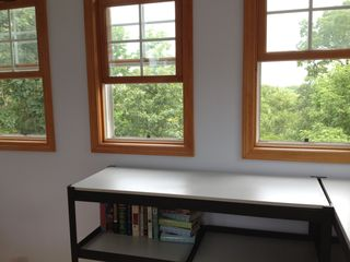 Utica house photo - Treetop views from within widow's walk cupola with even better views from above