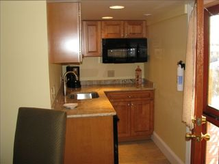 Cape May house photo - 2nd floor kitchenette w/sitting area & flat screen TV