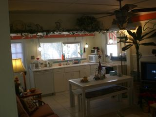 Kitchen-Dining-Living Room - Tybee Island cottage vacation rental photo