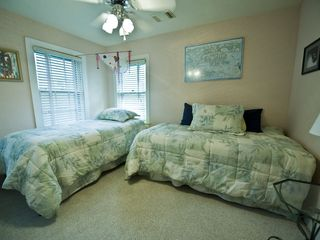 Austin house photo - Upstairs bedroom can either have twins or put together with a topped for a king