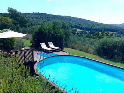 Roman Countryside with Garden/Pool Overlooking Lake Bracciano/Sea, WIFI, Sat TV
