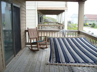 Surf City house photo - BOTTOM DECK 2