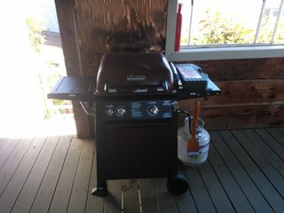 Morro Bay house photo - Gas BBQ.