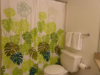 North Padre Island condo photo - Master bath has full tub/shower