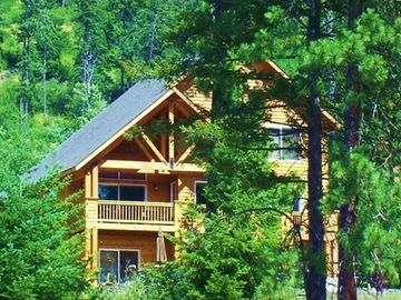 Cabin in Summer: Roslyn Ridge Vacation Rental By Owner Near Suncadia Golf Resort