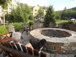 Ludlow condo photo - Jackson Gore Village - Fire Pit in the courtyard