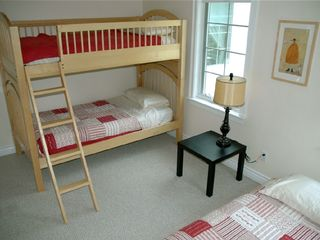 Waterbury Center villa photo - One of two BUNK BEDROOM with Trundle (on 2nd fl.)