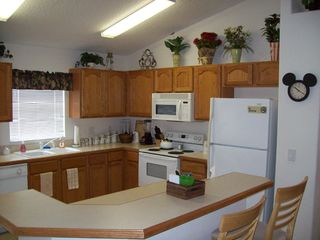Indian Creek house photo - Spacious kitchen adjacent to dinnette & dining rm.