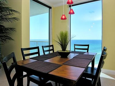 Dining Area with Views of the Beach