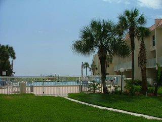 St. Augustine Beach condo photo - Patio View