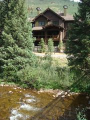 Copper Mountain townhome photo - View of Home from 10 Mile Creek