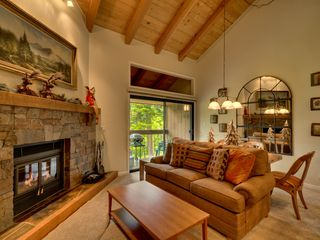 Carnelian Bay townhome photo - Living area