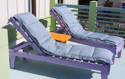 Sunnyside house rental - Soak up the sun lounging on the sun deck chairs