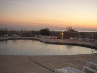 Gulf Shores condo photo - Beautiful Sunsets at the Pool!