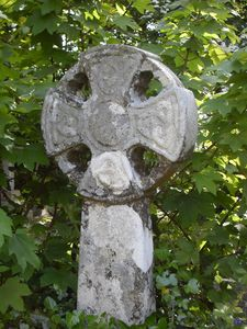Celtic Cross Sancreed Churchyard