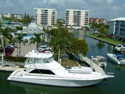 Fort Myers townhome rental - Yacht at our Docks