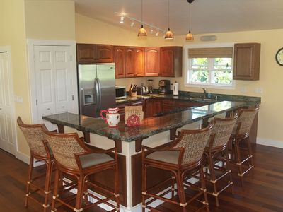 Gourmet Kitchen with seating for five