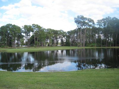 Pond, Picnic Area and BBQ Pits