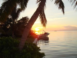 Beautiful sunset on the island - Spanish Wells cottage vacation rental photo