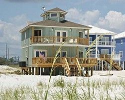 Orange Beach house rental - Enjoy Gulf front from 2 large decks
