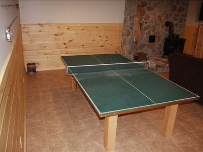 Ping Pong table for the table tennis enthusiast