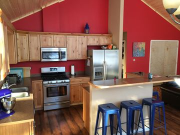 Willow house rental - We looove to cook!