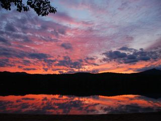 Conway house photo - Sunset over Pequawket Pond