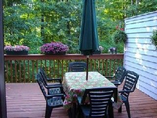 Large Private Deck w/Gas Grill