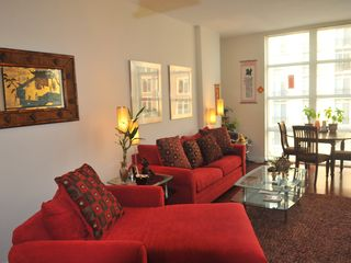 National Harbor condo photo - Living Room Sofa