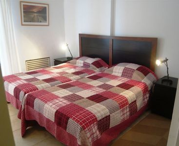Fuengirola apartment rental - Bedroom - with large twin beds