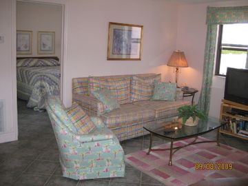 St Pete Beach condo rental - St Pete Beach Gulf Winds #1001 Living Room