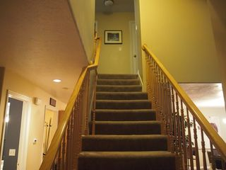 Cottonwood Heights townhome photo - Stairway leading to second floor