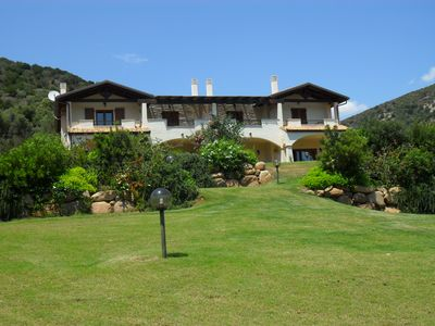 Lovely house with garden in the deep south of Sardinia.