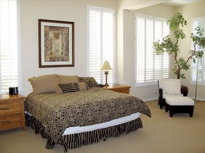 Indio house rental - Spacious Master Bedroom