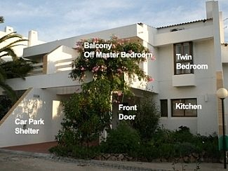 Air-conditioned accommodation, great guest reviews , Quarteira, Faro